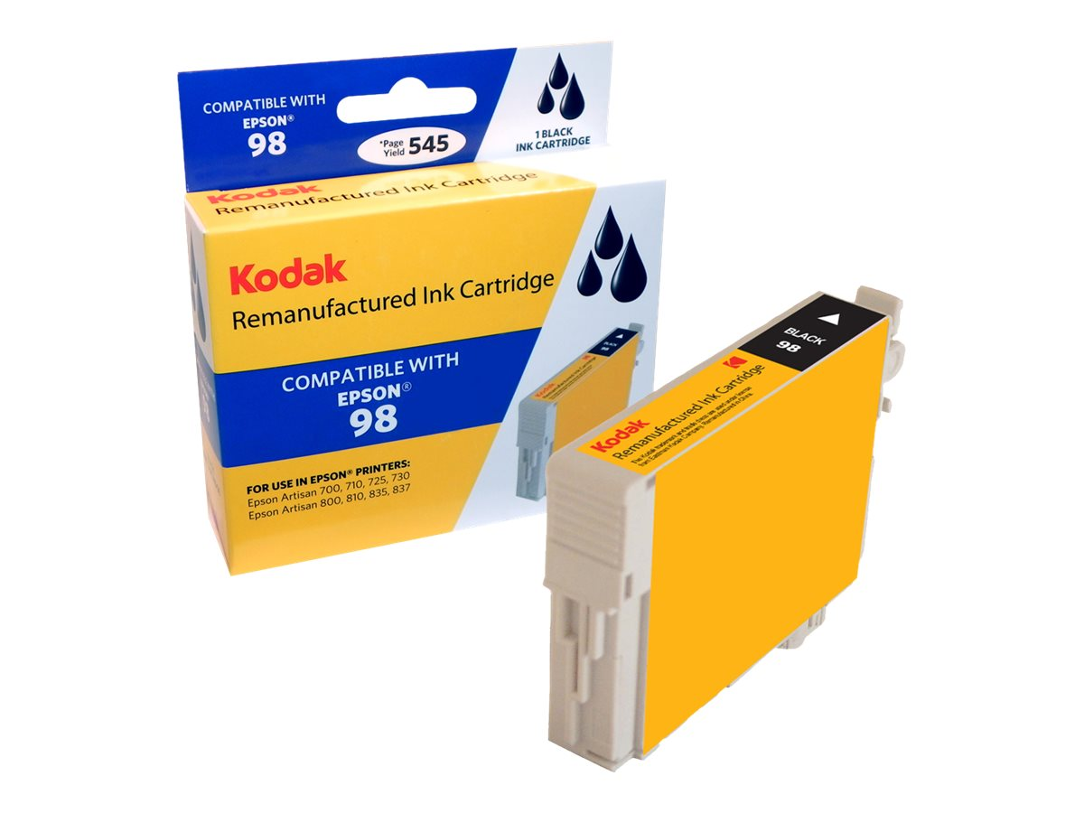 Kodak T098120 Black Ink Cartridge for Epson Artisan 700, 710 & 800, T098120-KD