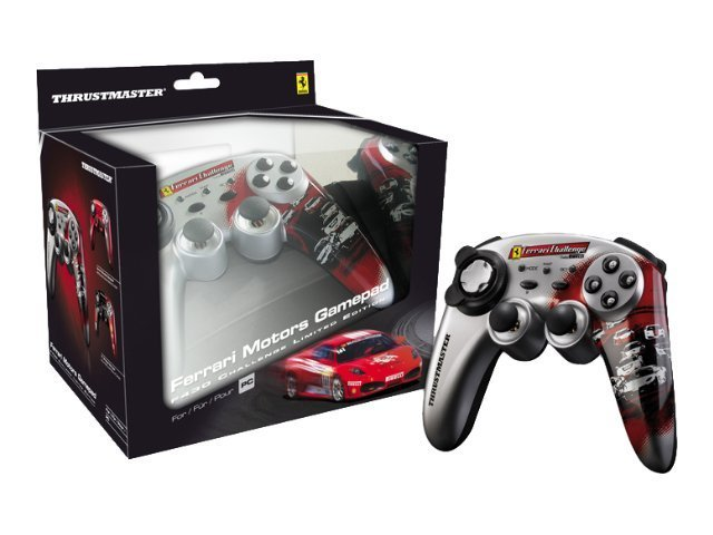 Thrustmaster Ferrari Motors F430 Gamepad, 2960714, 11221458, Computer Gaming Accessories