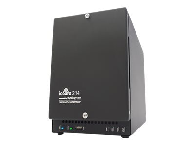ioSafe 2TB 214 Waterproof Fireproof Network Attached Storage with 1-Year DRS, 214-2TB1YR