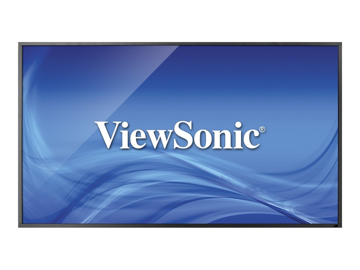 ViewSonic 55 CDP5562-L Full HD LED-LCD Display, Black