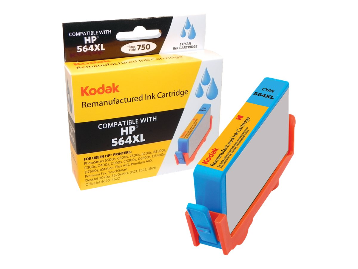 Kodak CN685WN Cyan Ink Cartridge for HP, CN685WN-KD