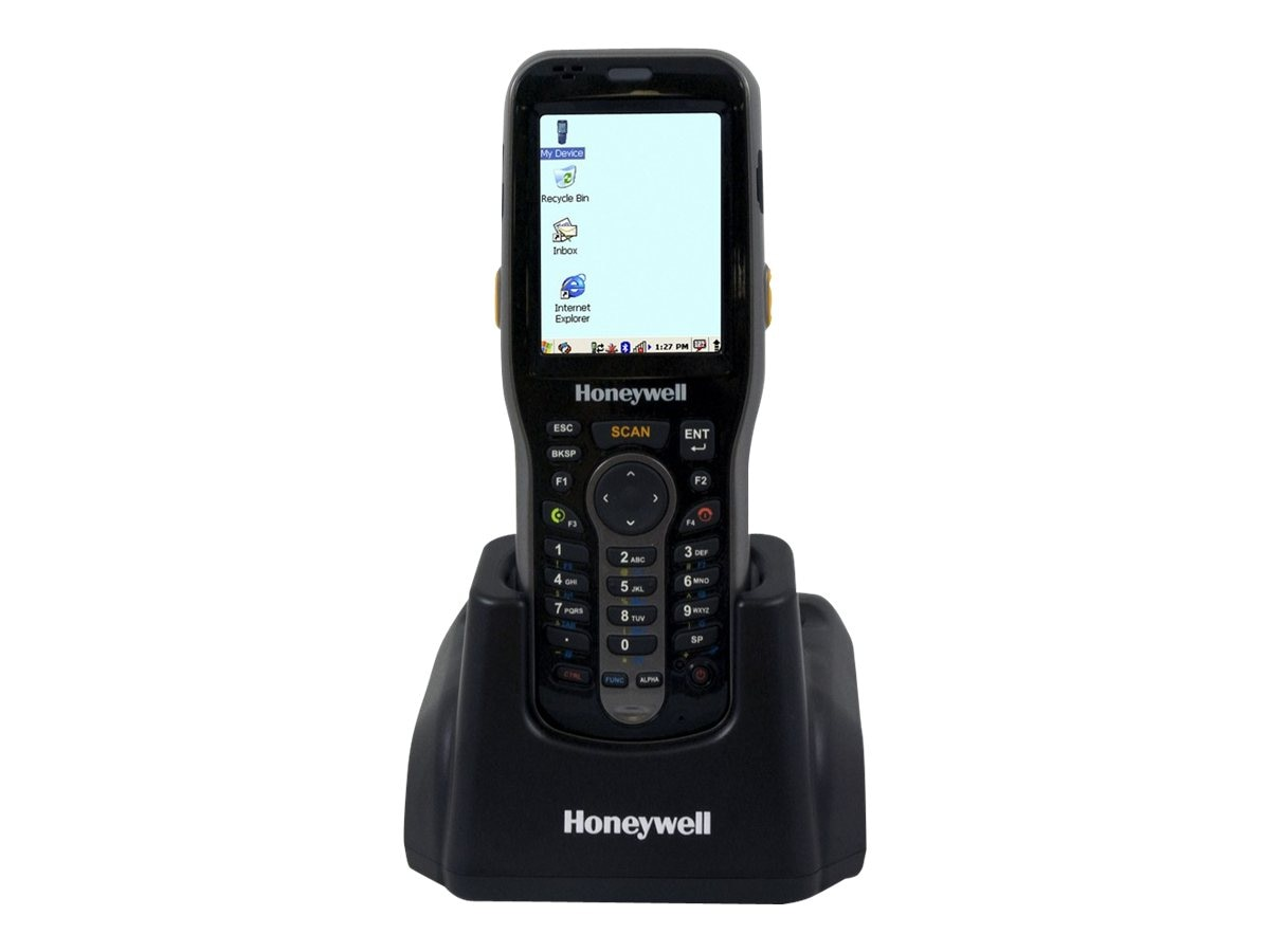 Honeywell HomeBase Single-slot Cradle, RS232 USB, Spare Battery Charging Slot, 6500-HB
