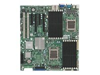 Supermicro Motherboard, SR5690, Dual Opteron 6C, EATX, Max 128GB DDR2, 2PCIEX16, 2PCIEX8, 2PCIX, 2GBE, SATA,Vid, MBD-H8DII+-O, 11868809, Motherboards