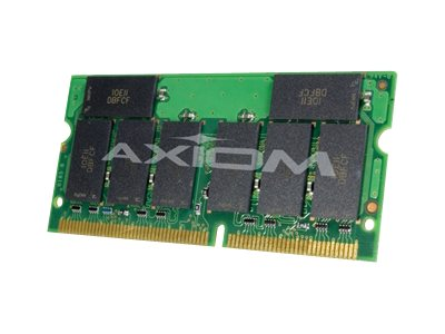 Axiom 256MB PC133 133MHz SDRAM Memory Module for Select OmniBook and Pavilion Models, F3496A-AX, 6615727, Memory