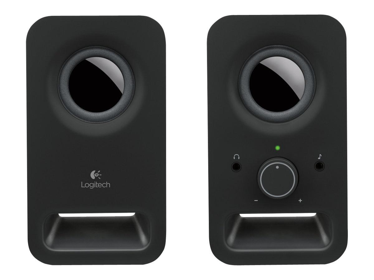 Logitech Z150 Multimedia 2.0 Speakers, Midnight Black
