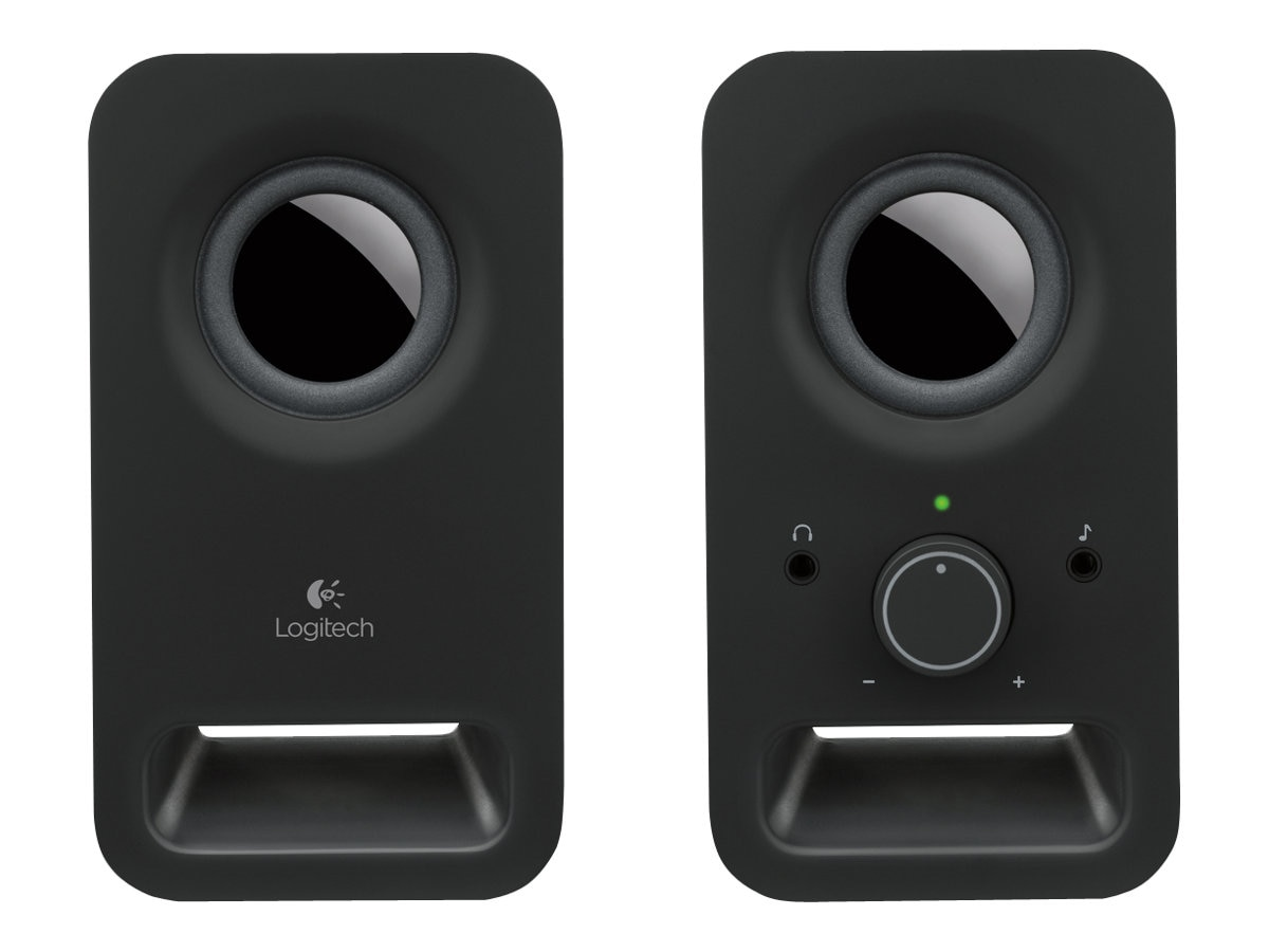 Logitech Z150 Multimedia 2.0 Speakers, Midnight Black, 980-000802, 16333230, Speakers - PC
