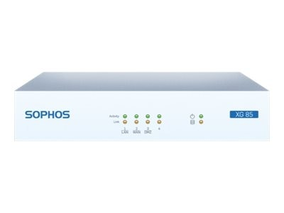 Sophos Corp. XG 85W Appliance w US POWER CORD, TOTALPROTECT (1 Year), XA8A1CSUS