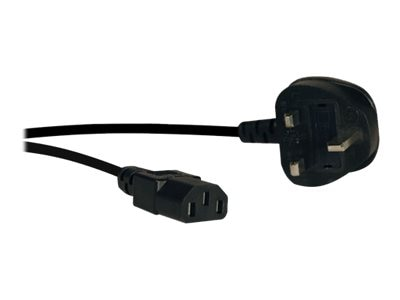 Tripp Lite UK Power Cable, C13 to BS1363, 6ft, P056-006, 9086234, Power Cords