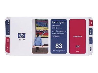 HP 83 Magenta UV Printhead w  Cleaner for the DesignJet 5000, C4962A, 328167, Ink Cartridges & Ink Refill Kits