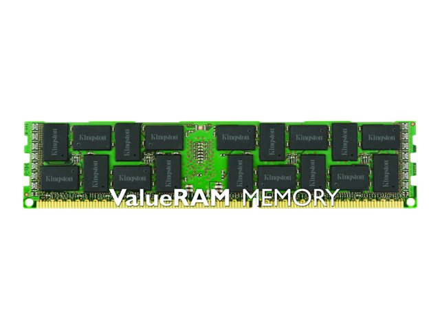 Kingston 4GB PC3-10600 240-pin DDR3 SDRAM DIMM for Select Models, KVR13LR9S8/4, 15651703, Memory