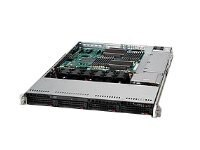 Supermicro SuperServer 6016T-6F, 1U, Intel Xeon 5600 5500 Support, SYS-6016T-6F, 11150098, Barebones Systems
