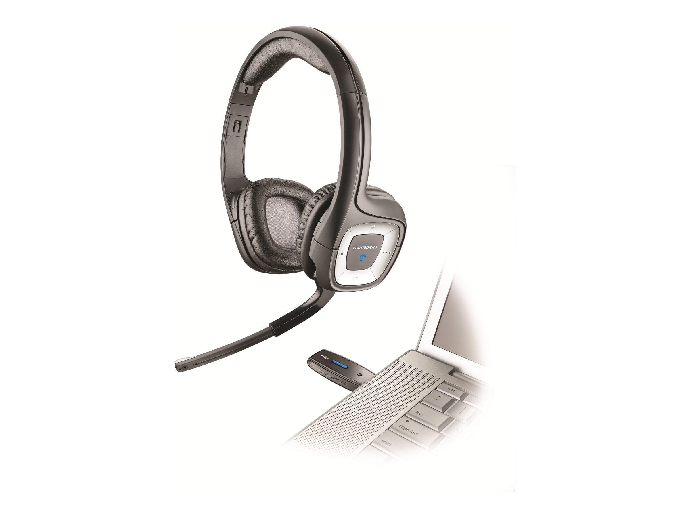 Plantronics .Audio 995 Wireless Headset, 80930-21