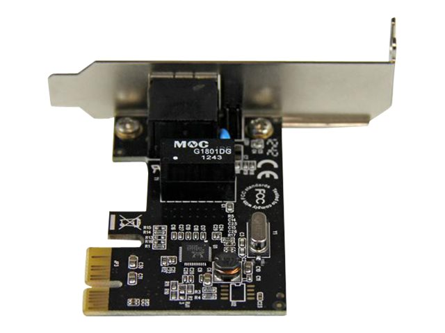 StarTech.com 1 Port PCI Express PCIe Gigabit Network Server Adapter NIC Card Low Profile
