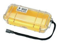 Pelican 1030 Clear Micro Case, Yellow, 1030-027-100, 11751483, Protective & Dust Covers