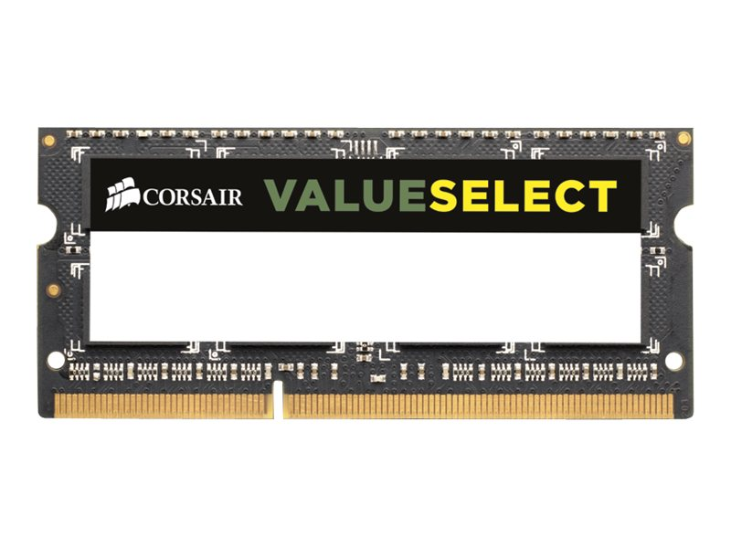 Corsair 8GB PC3-12800 204-pin DDR3 SODIMM Kit, CMSO8GX3M2A1600C11