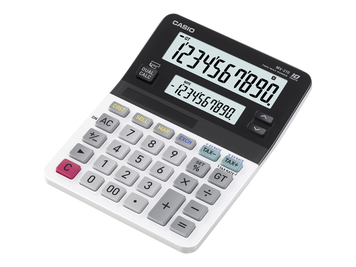 Casio Mini Desktop Dual Display Calculator