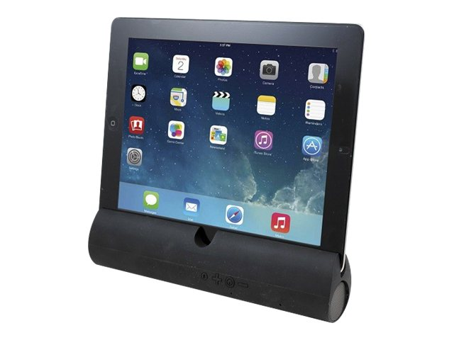 Adesso XTream S3 Speaker Stand BT Dock for iPad - Black, XTREAM S3B, 16681947, Speakers - Audio