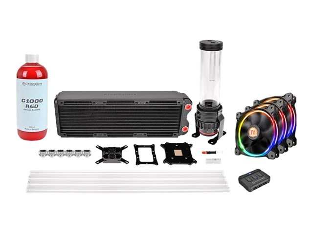 Thermaltake Pacific RL360 D5 Hard Tube RGB Water Cooling Kit, CL-W129-CA12SW-A