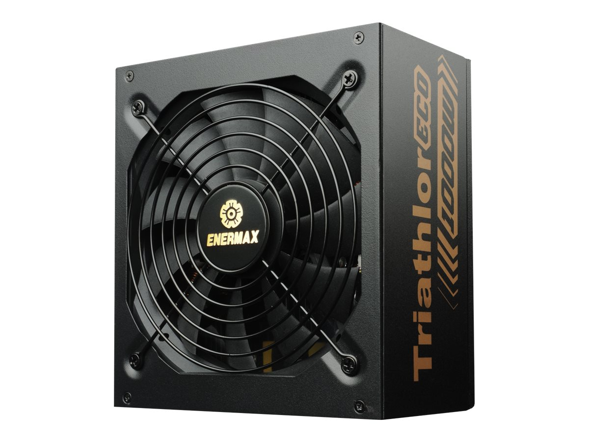 Enermax Triathlor ECO Power Supply 800W 80-Plus Bronze Certified Single +12V Rail SLI CrossFire Support