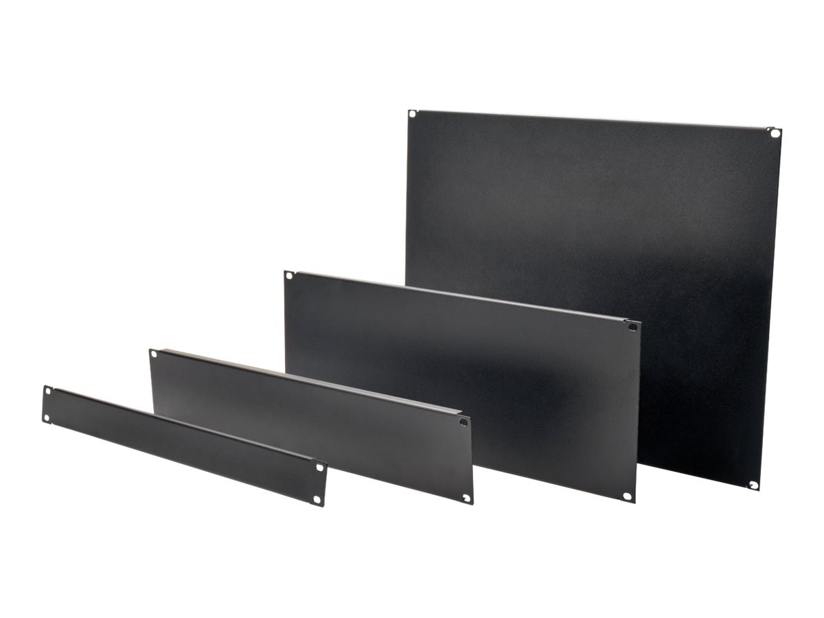 Tripp Lite Blanking Panel Kit, 4 Pieces, 19, Black, SRXUPANEL