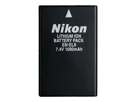 Nikon EN-EL9 Rechargeable Li-on Battery, 25353, 7293889, Batteries - Camera