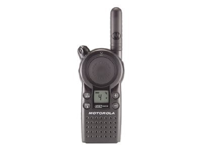 Motorola CLS Series Business Two-Way Radio, Four Channel, One Watt, 56 Frequencies