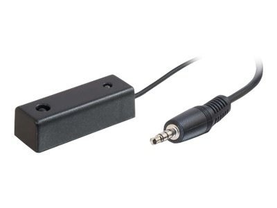 C2G Dual Band Infrared Receiver with 3.5mm Plug, Black, 10ft, 98045, 31272236, Video Extenders & Splitters