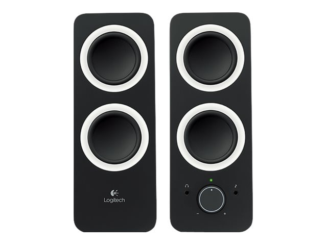 Logitech Z200 Multimedia 2.0 Speakers, Midnight Black, 980-000800, 16333213, Speakers - PC