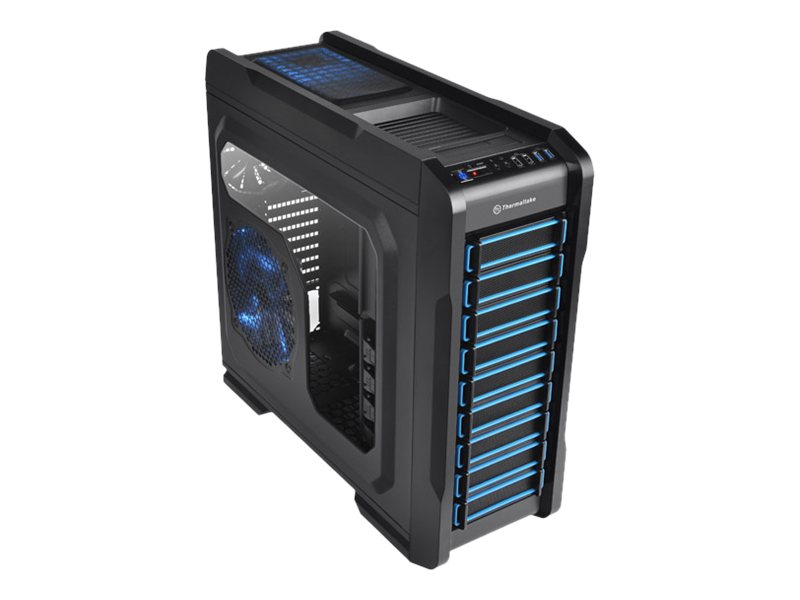 Thermaltake Chassis, Chaser A71 Tower mATX ATX E-ATX 6x3.5 Bays 3x5.25 Bays No PSU Window, Black, VP400M1W2N, 15796013, Cases - Systems/Servers