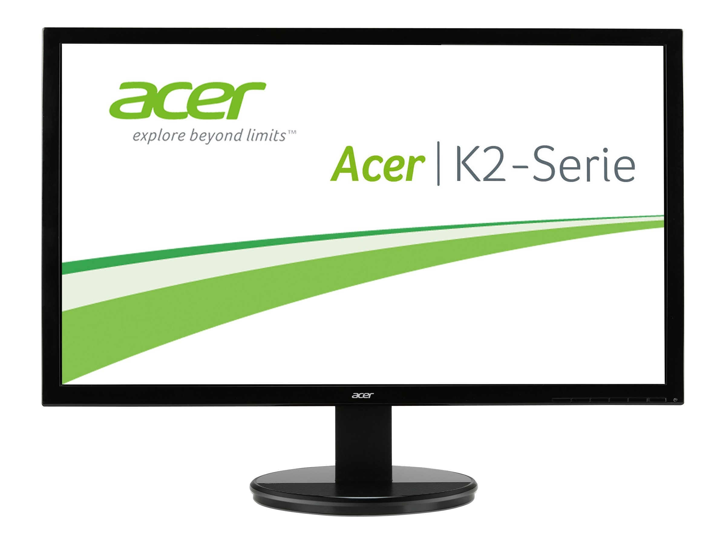Acer 24 K242HQL BBMD Full HD LED-LCD Monitor, Black, UM.UX6AA.B05, 24989431, Monitors - LED-LCD