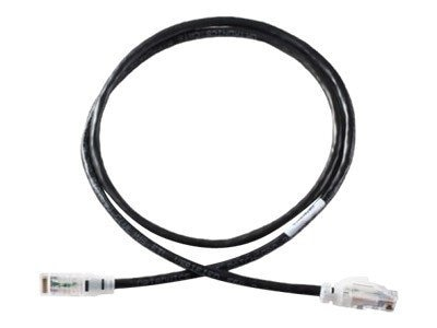 Ortronics Cat6 Patch Cable, Black, 25ft