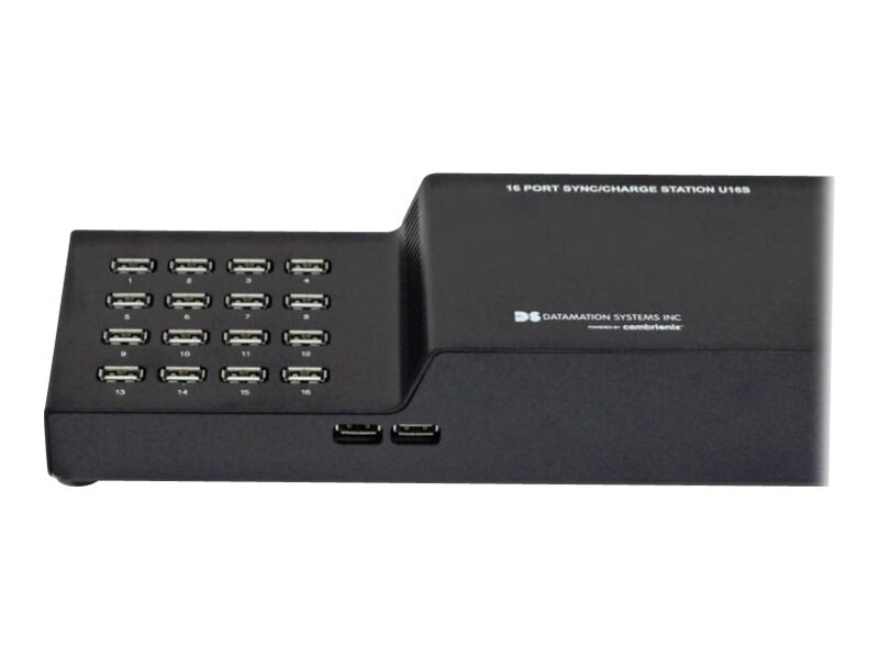 Datamation 16-Port Hub USB External