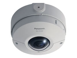 Panasonic 9MP 360-degree Vandal Resistant Outdoor Dome Camera, WV-SFV481, 32327729, Cameras - Security