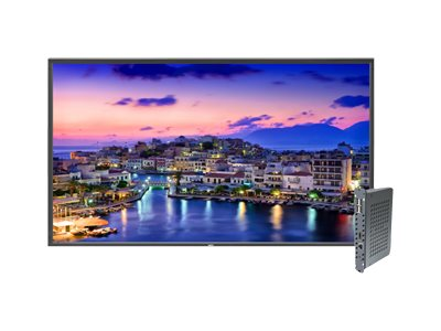 NEC 80 V801 Full HD LED-LCD Display, Black with Integrated Digital Media Player