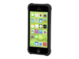 Griffin Survivor Core for iPhone 5c, Black Clear, GB38223-2, 32223831, Carrying Cases - Phones/PDAs