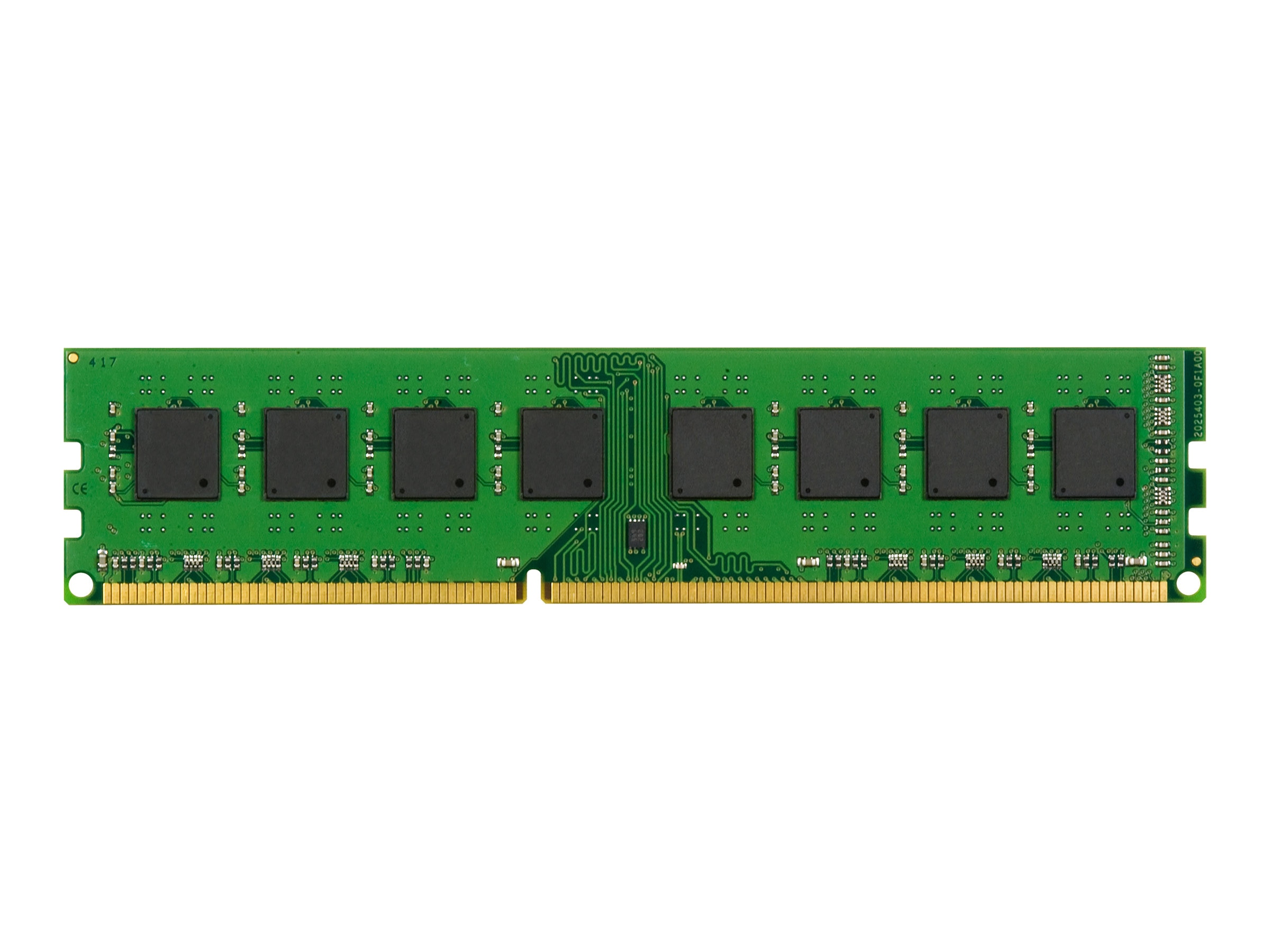 Kingston 8GB PC3-12800 240-pin DDR3 SDRAM UDIMM for Select Business Pro, Elite, Workstation Models, KTH9600C/8G, 14641781, Memory