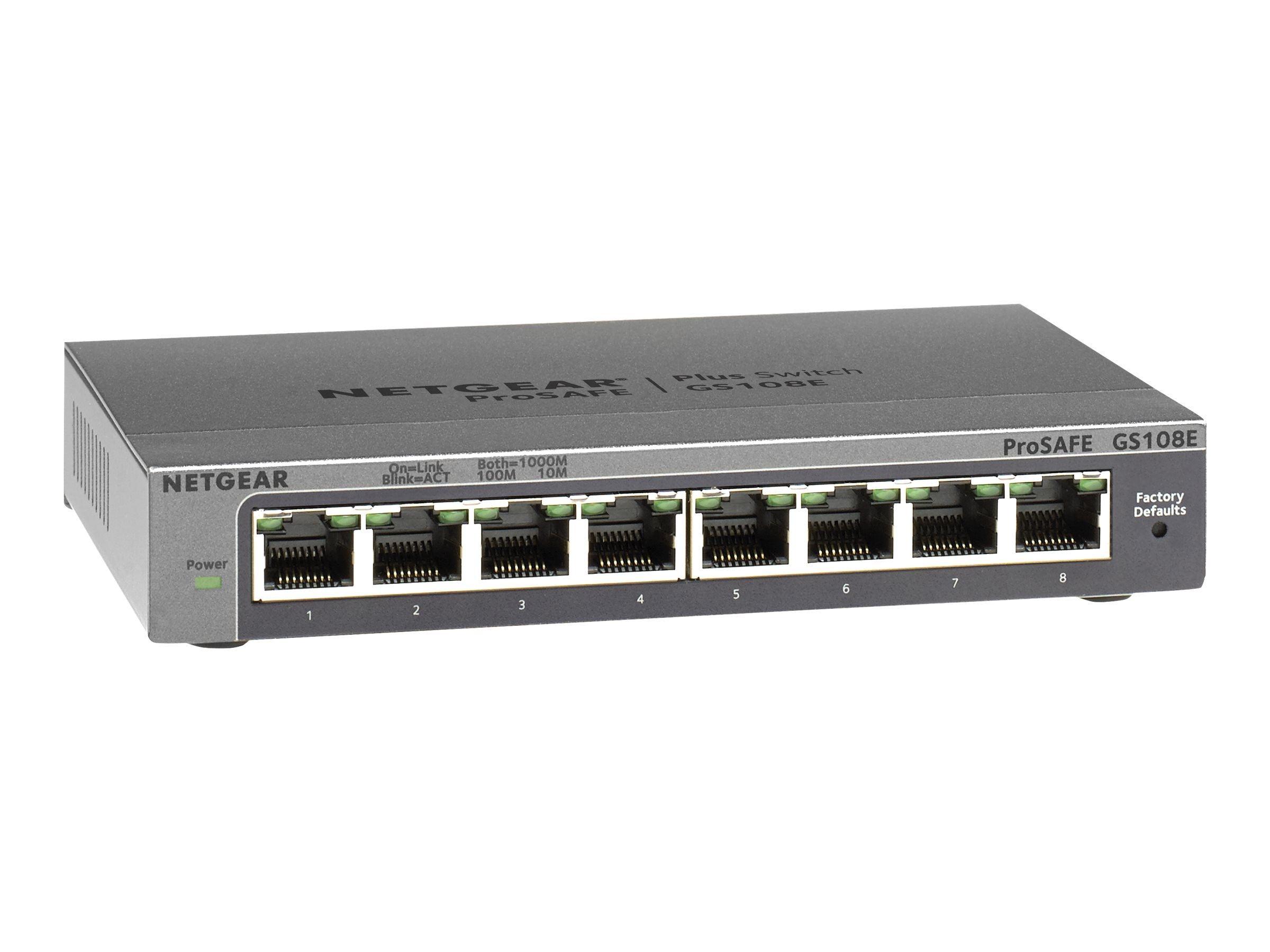 Netgear 8-port ProSafe Gigabit Plus Switch