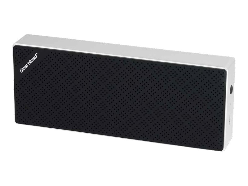 Gear Head Bluetooth Wireless Slim Speaker - Black