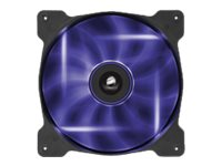 Corsair Air Series SP140 LED High Static Pressure 140mm Fan, Purple, CO-9050028-WW, 18746636, Cooling Systems/Fans