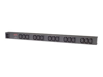 APC Rack PDU Basic 0U 16A 208 230V (15) C13, AP9572, 6032206, Power Distribution Units