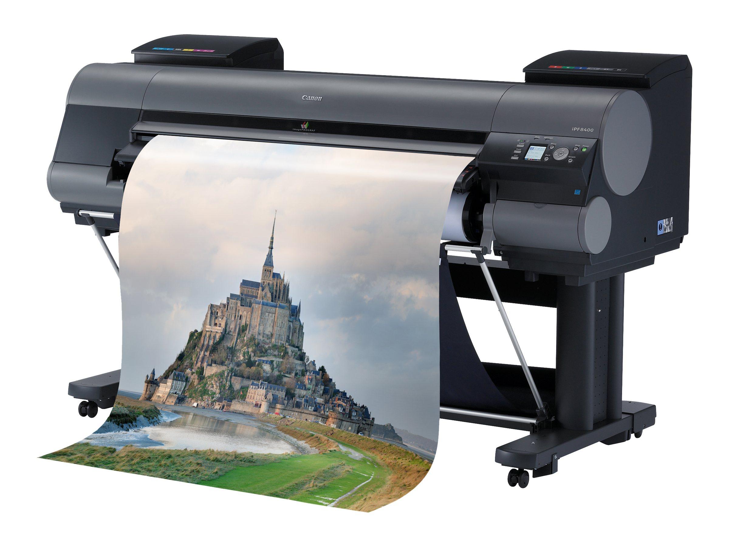 Canon imagePROGRAF iPF8400 Graphic Arts & Photo Printer