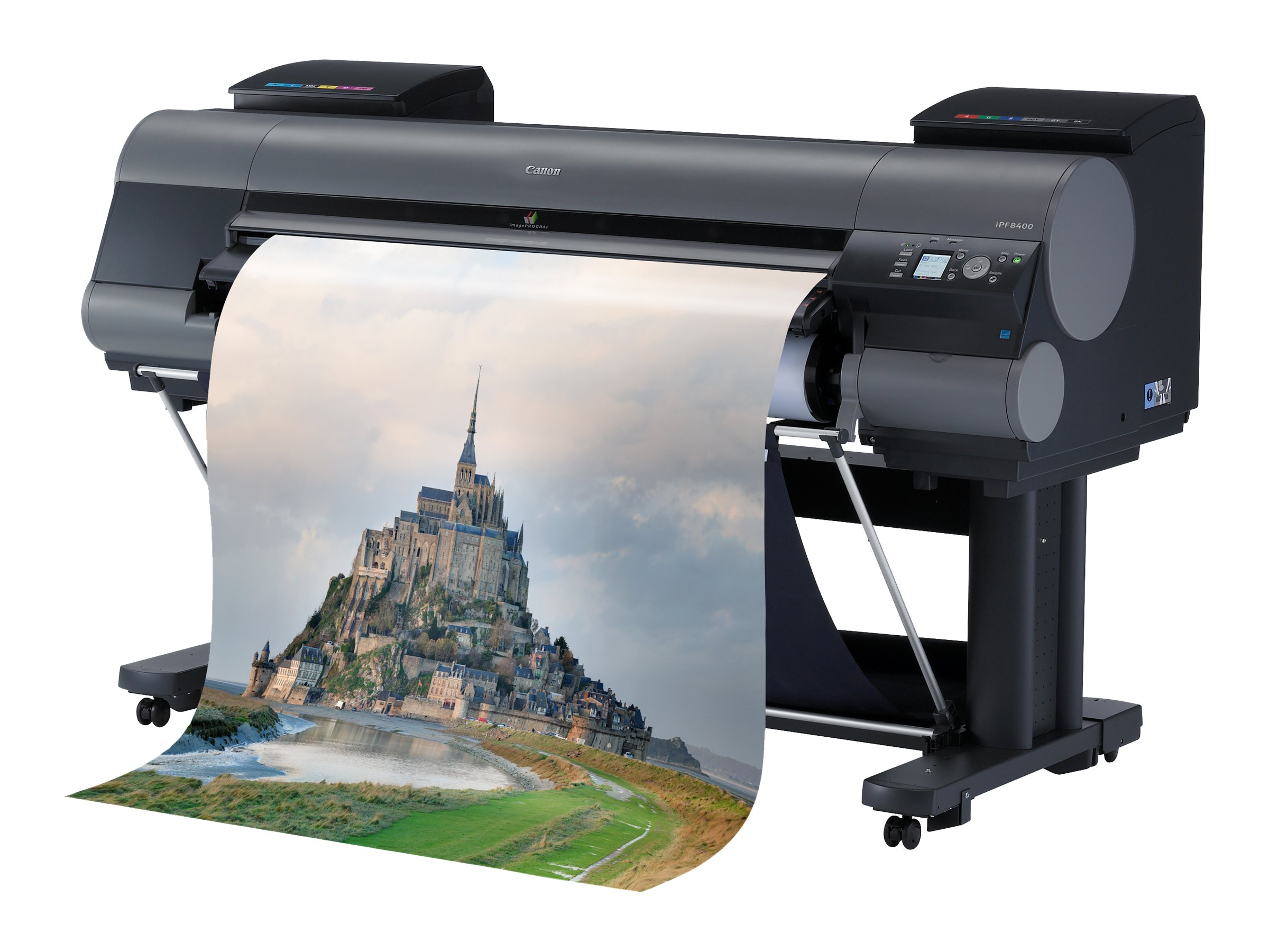 Canon imagePROGRAF iPF8400 Graphic Arts & Photo Printer, 6565B002, 14775405, Printers - Large Format