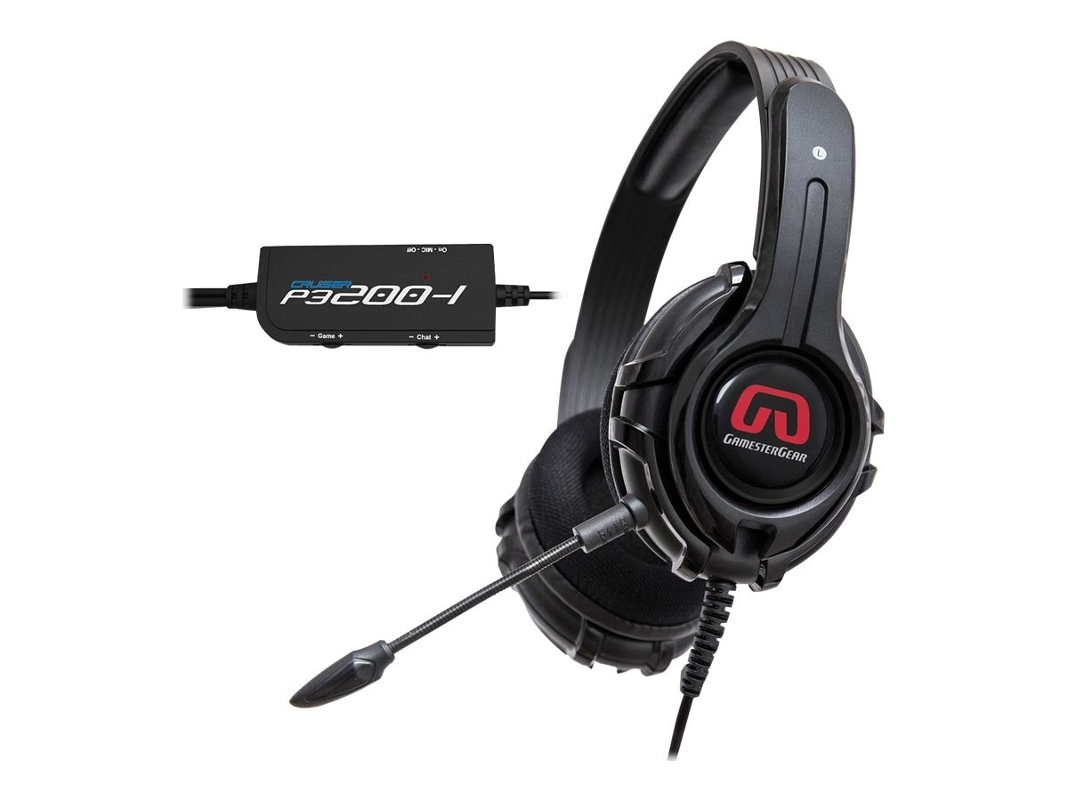 Syba GamesterGear P3200 Stereo Gaming Headset for PS3   PS4 & PC, OG-AUD63085