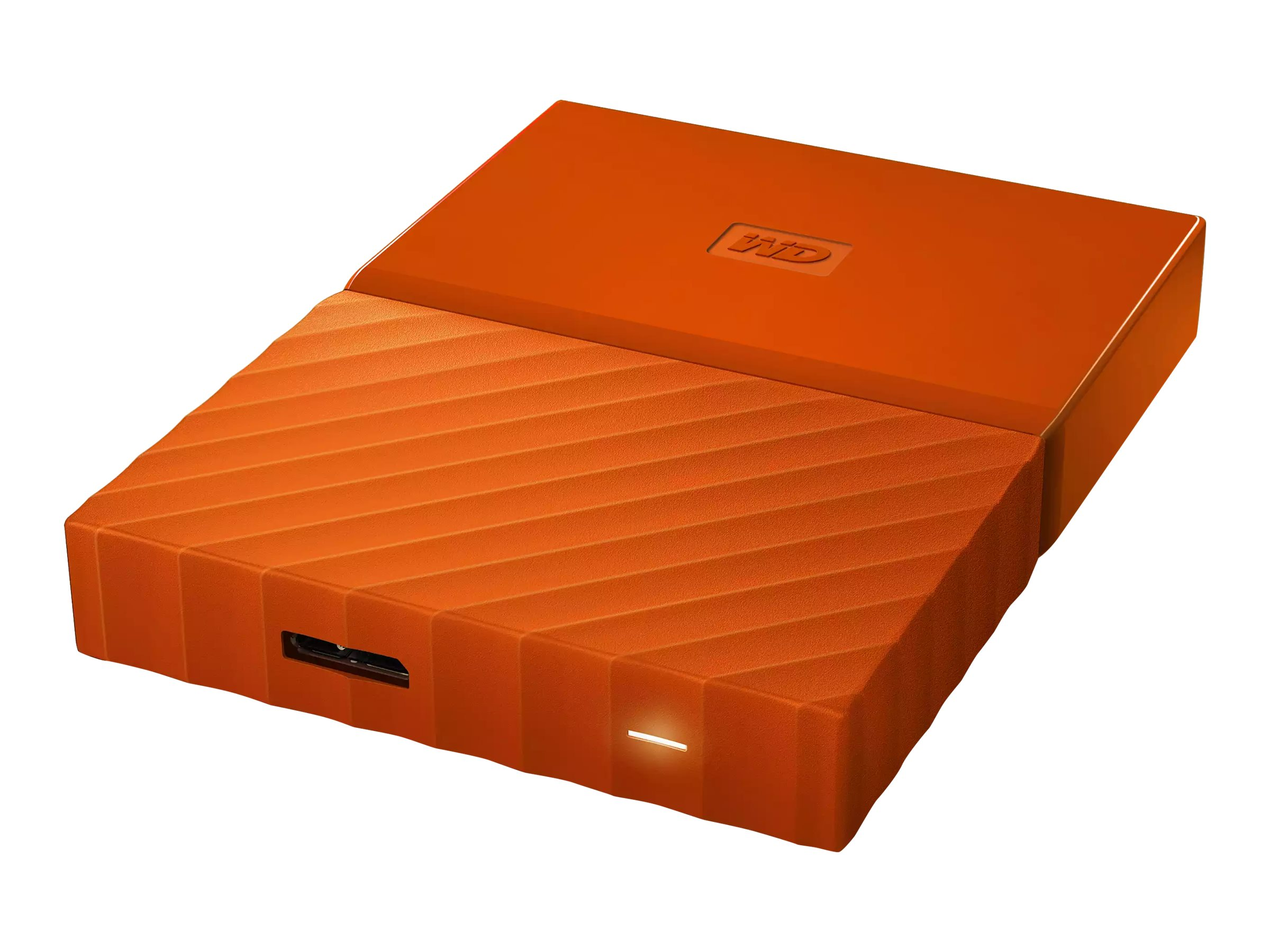 WD 4TB My Passport Portable, Orange