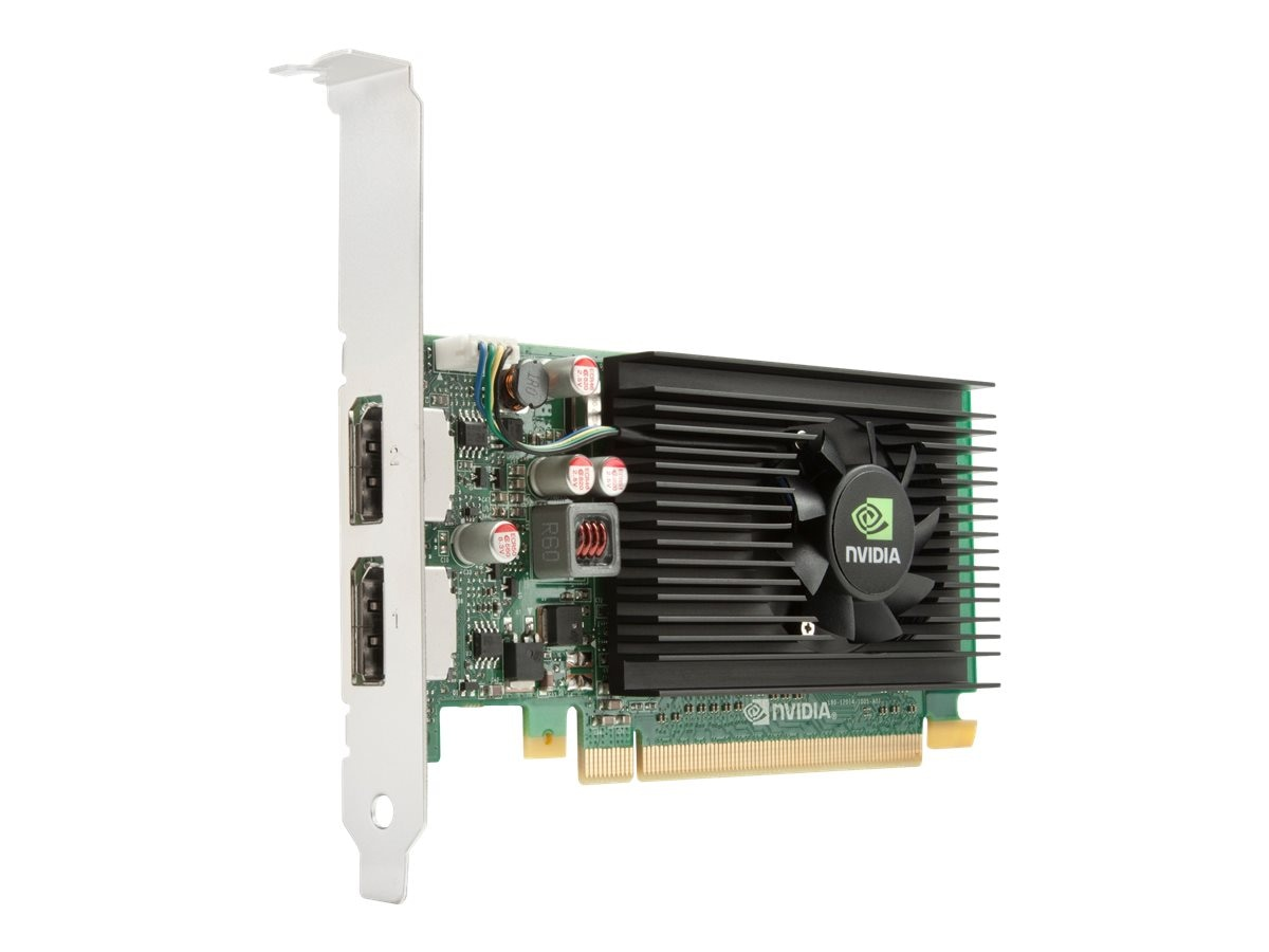 HP Smart Buy NVIDIA NVS 310 PCIe 2.0 x16 Low-Profile Graphics Card, 512MB DDR3, A7U59AT, 14400283, Graphics/Video Accelerators