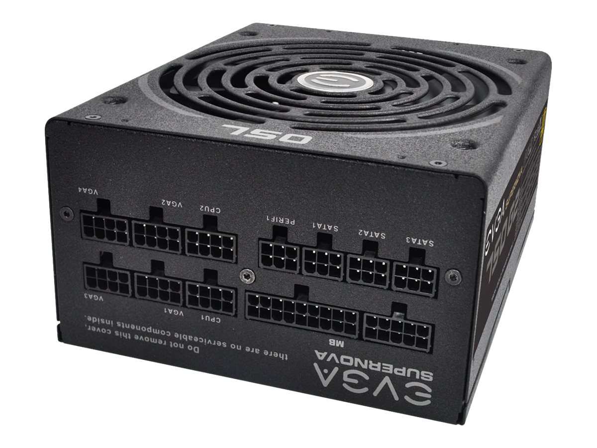 eVGA SuperNOVA 750 G2 PSU, 220-G2-0750-XR