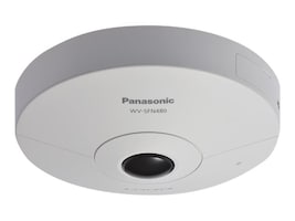 Panasonic 9MP 360 Degree Indoor Network Camera, WV-SFN480, 33593471, Cameras - Security