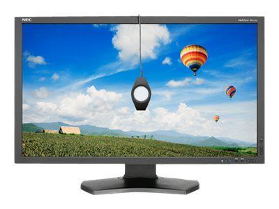 NEC 27 PA272W-BK LED-LCD Monitor, Black with SpectraView II Color Calibrator, PA272W-BK-SV, 16349451, Monitors