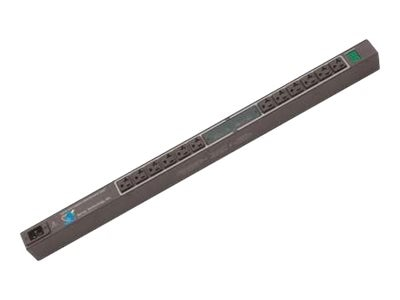 Server Technology Metered CDU, 0U, (12) IEC C13, LED Amp Meters, C-12V2-L30M, 16818966, Power Strips