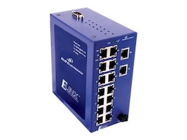 IMC Managed Switch 16-Port 10 100 WT NEMA TS2 OPT MDR-60-24DIN RAIL Power, ESW516-T, 17612759, Network Switches